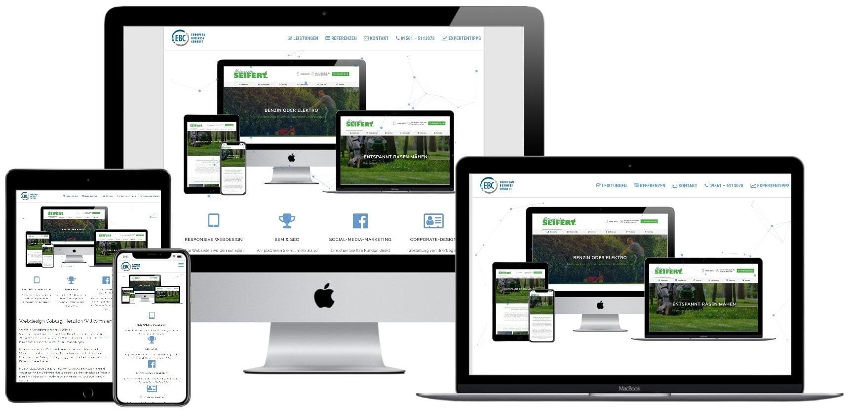 Responsive Webdesign Coburg